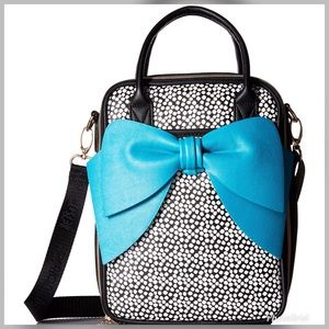 Betsey Johnson Bow Chow Bella Lunch Tote & grub.